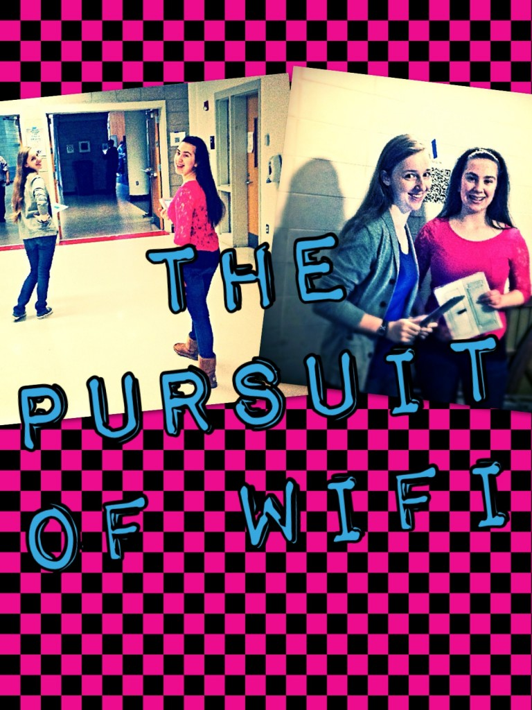 The Pursuit of Wifi pic of Tessa and Michelle